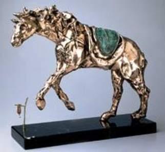 מוזיאון ראלי קיסריה, הסוס והשעון הרך, סלבדור דאלי