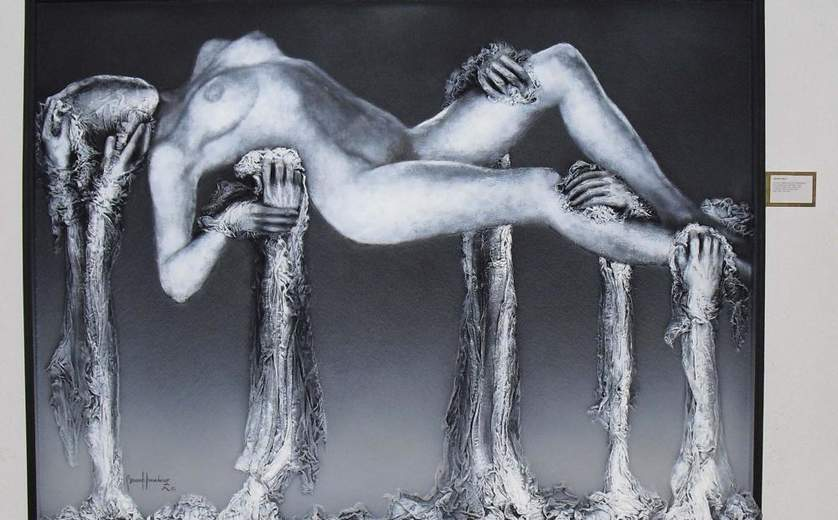 מוזיאון ראלי פונטה דל אסטה, תערוכת אמנות עירום