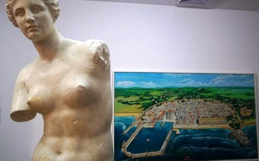 מוזיאון ראלי קיסריה, פריטים צלבניים, תערוכת חלומו של הורדוס