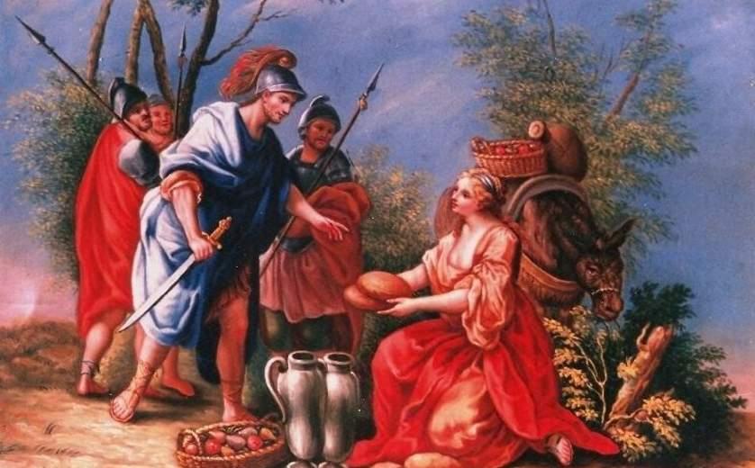 """מוזיאון ראלי קיסריה, """"אביגייל"""", סיפורי התנ""""ך"""