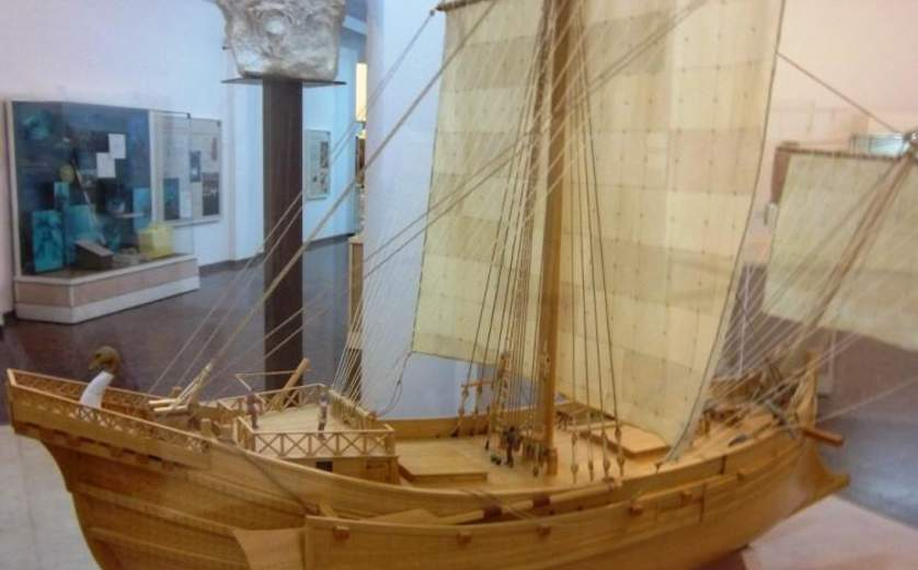 "Ralli Museum, Roman Trading Ship Model Exhibition of Antiquities, ""Herod's Dream"" exhibition"