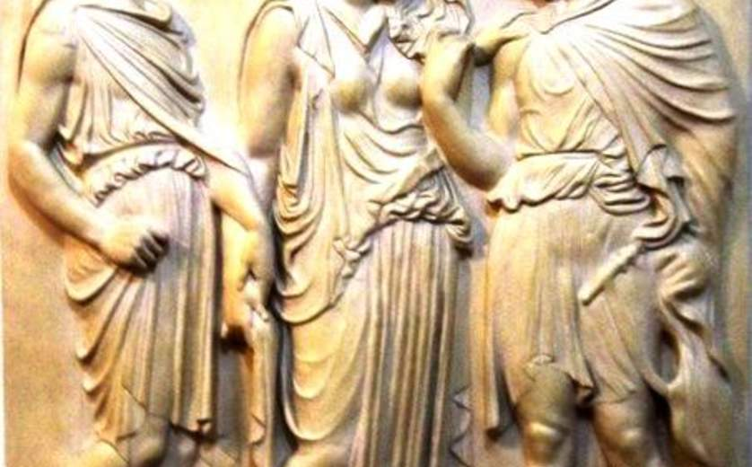 "Ralli Museum, Separation of Eurydice & Orpheus Before Returning with Hermes to World of Death,""Herod's Dream"" exhibition"