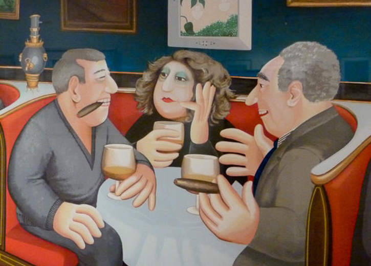 Museo Ralli de Marbella, Beryl Cook