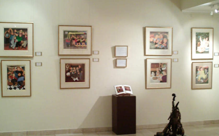 Ralli Museum, Santiago de Chile, Beryl Cook Hall