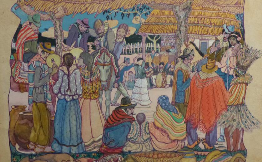 Sala Grandes Maestros Argentinos, Museo Ralli, Santiago de Chile
