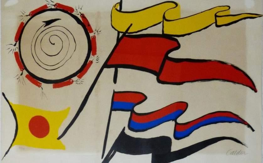 Ralli Museum, Santiago de Chile, ALEXANDER CALDER: Motion Studies